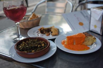 Tapas in Sevilla