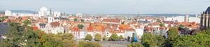 Panorama von Erfurt, bei Fotolia Nummer 57293034