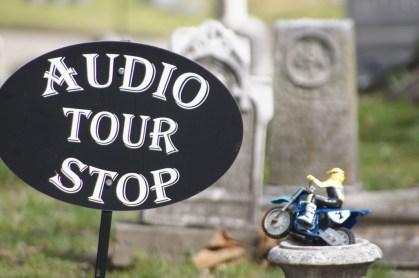 Audio-Tour auf dem Friedhof in Memphis