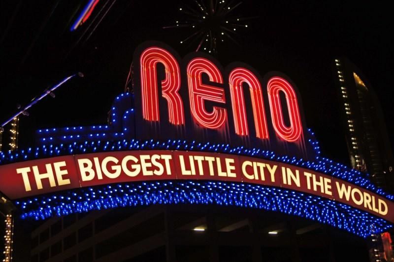 Reno nachts