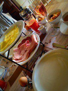 Frühstück im Hotel Bigarré