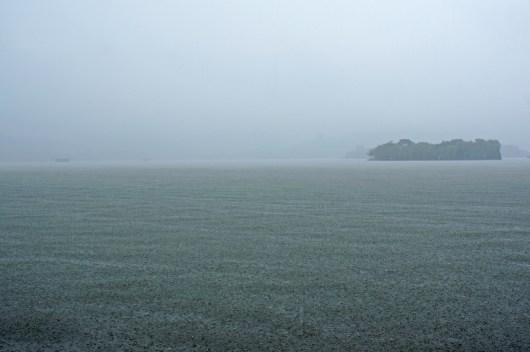 Es schüttet am Westsee