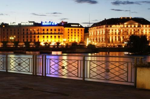 Genf am Abend