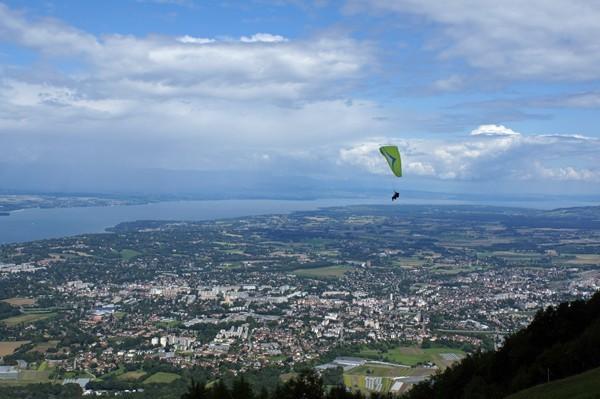 Blick vom Mont Salève