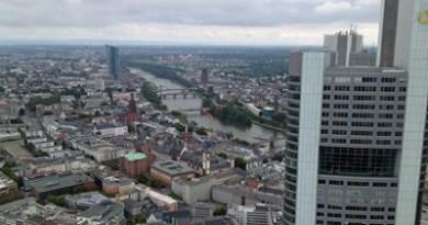 Frankfurt: Blick von oben
