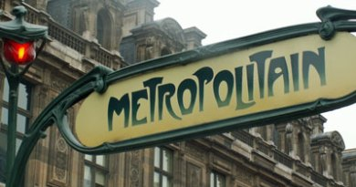 Paris, Metrostation