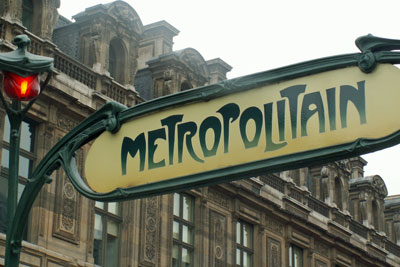 Paris, Metrostation