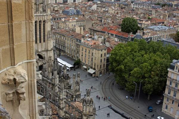 Bordeaux: Blick nach unten