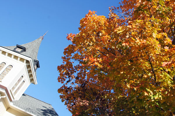 Torrington im Herbst