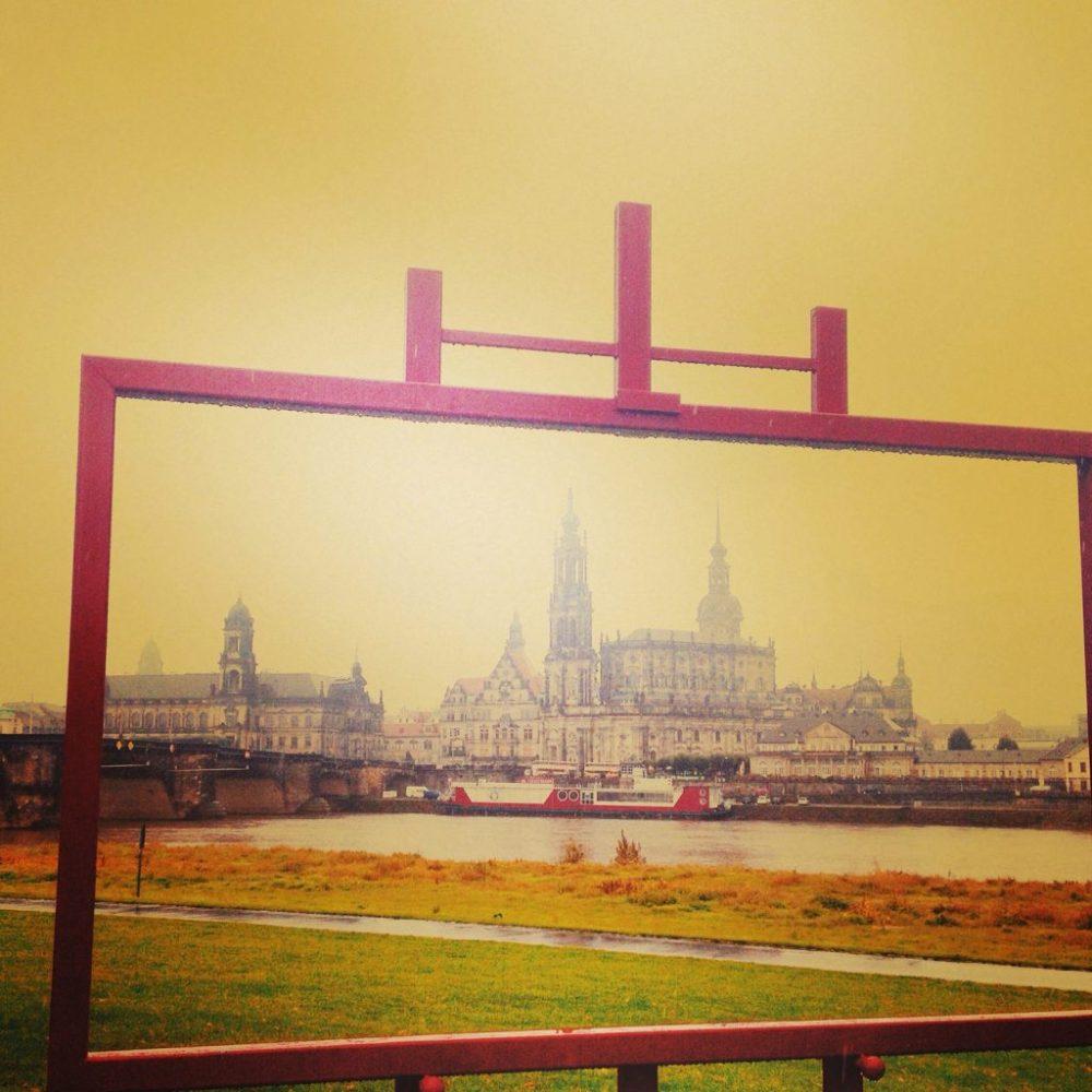 Canaletto-Blick auf Dresdens Altstadt