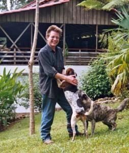 Jürgen Stein mit seinen Hunden