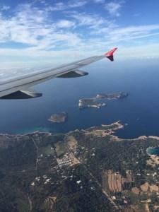Ibiza von oben
