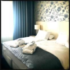 Schlafzimmer in der Suite