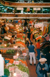 Markt in Guadalajara