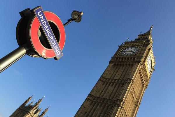Big Ben und Underground