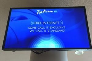 Internet für alle - nur nicht für die Gäste in den zugehörigen Villen.