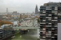 Köln gesehen aus einem Kranhaus