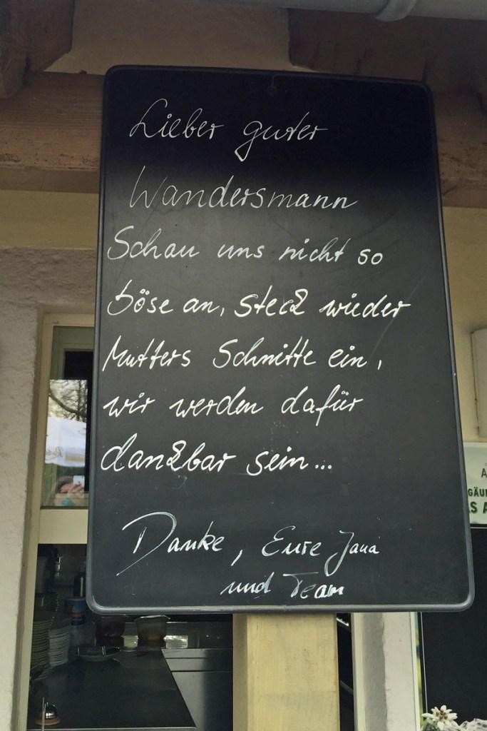 Gaststätte auf dem Lilienberg