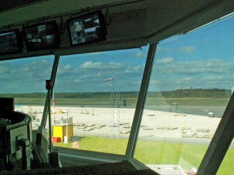 Blick aus dem Tower