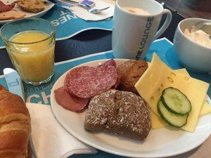 Frühstück im Motel One in London