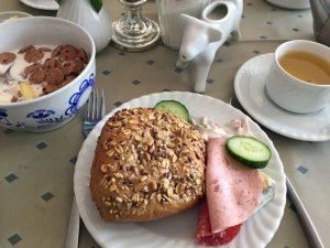 Hotelfrühstück auf Wangerooge
