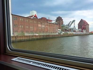 Blick aufs Hafengelände