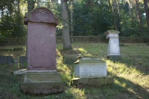 Jüdischer Friedhof im Wald