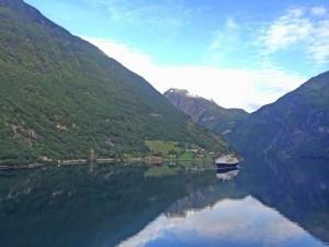 Im Geirangerfjord