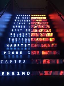 Treppe im Spionagemuseum