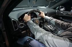 Probesitzen im Porsche