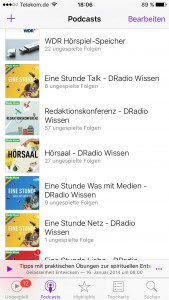 Lieblingspodcasts