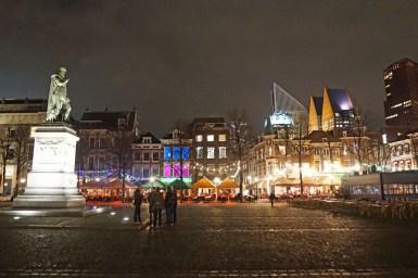 Den Haag am Abend