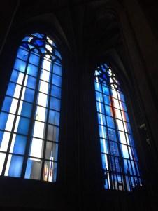 Blaue Kirchenfenster