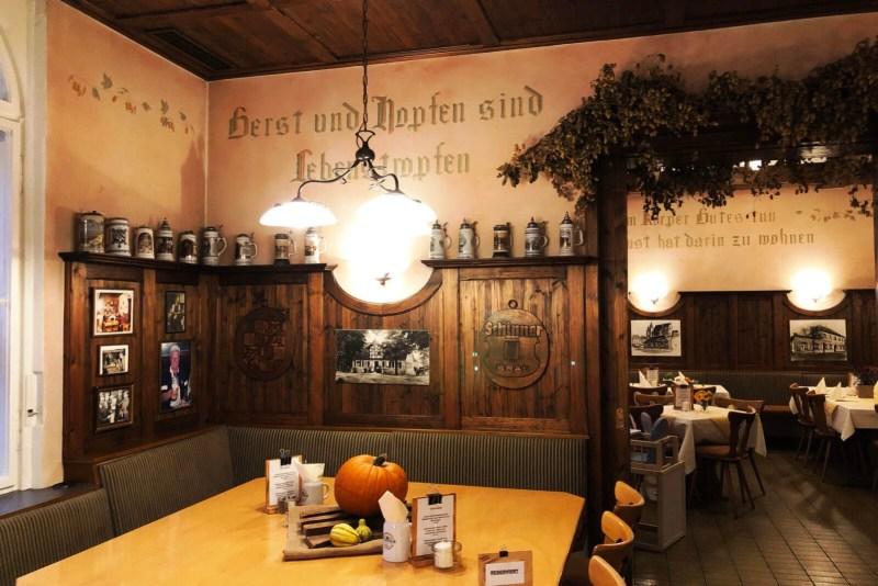 Gutbürgerlich essen in den Schinner Braustuben in Bayreuth