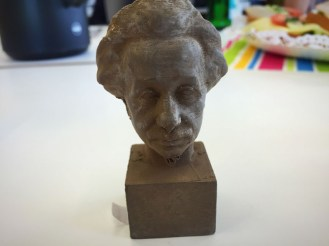 Einstein gedruckt