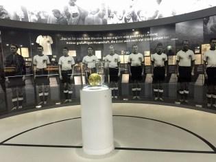 Im Fußballmuseum