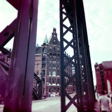 Brückenlauf in der Hafencity