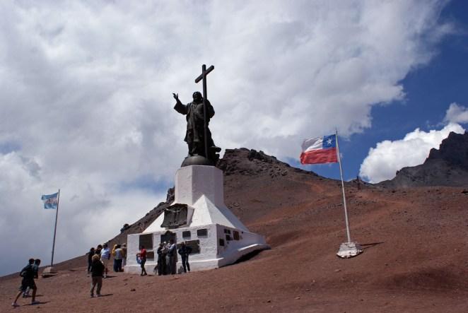 Auf der Grenze zu Chile