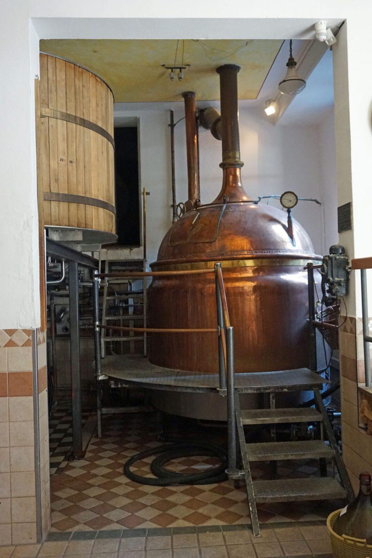 In der Brauerei
