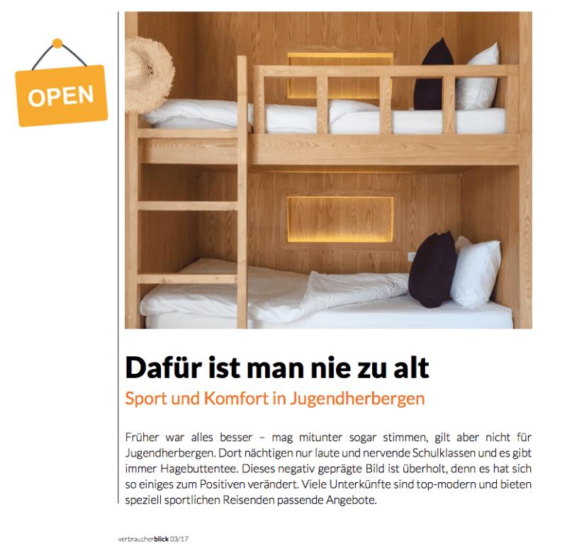Screenshot Verbraucherblick3/2017