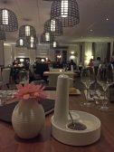 Im Hotel-Restaurant