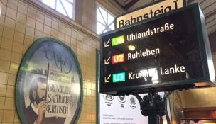 In der U-Bahn-Station