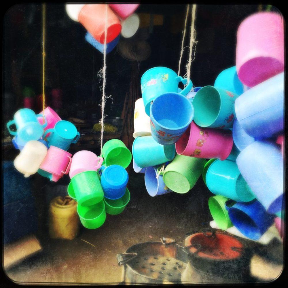 Plastiktassen-Verkauf