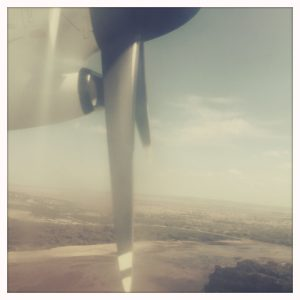 Flug nach Nairobi