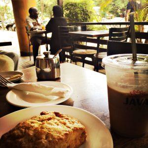Kaffee im Java House