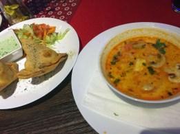 Indisch in der Curry Lounge