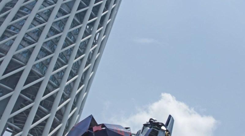 Der Cantonese Tower in Guangzhou
