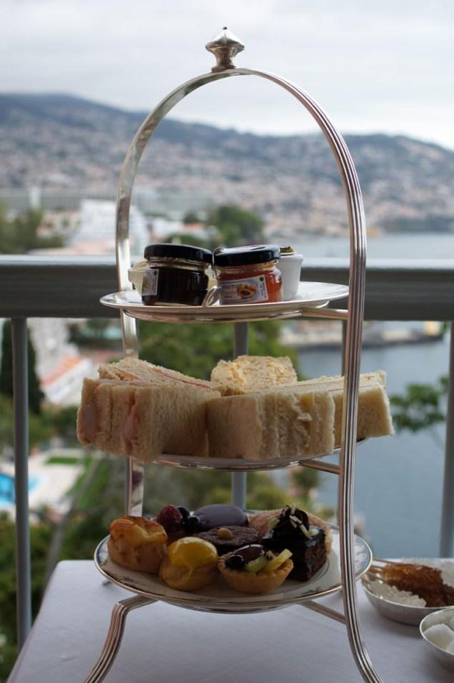 Afternoon Tea auf Madeira