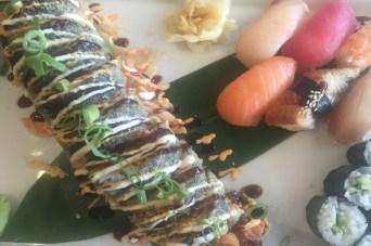Sushi im Spezialitätenrestaurant