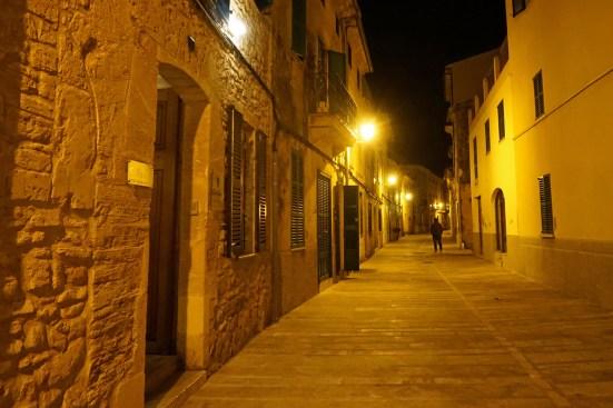 Alcudia nachts